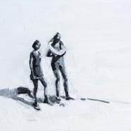 Leszek Skurski - Lifebelt - 30x40 cm - Oil on Wood - 2018