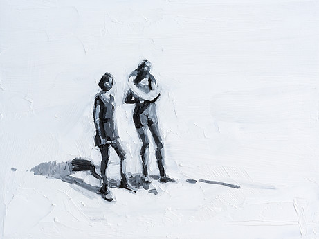Leszek Skurski - Lifebelt - 30x40 cm - O