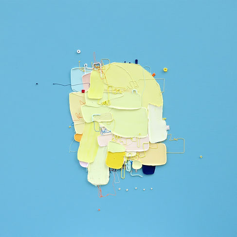 The Memory of the Unconscious 507, 73x73 cm, Mixed media on Canvas, 2021.jpg