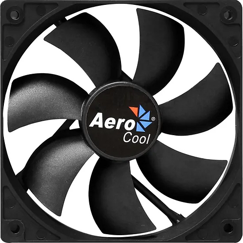 COOLER FAN 12CM DARK FORCE PRETO AEROCOOL