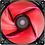 Thumbnail: COOLER FAN 12CM RED LED VERMELHO AEROCOOL