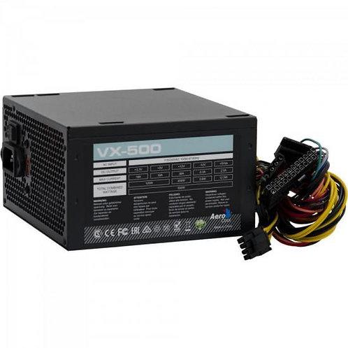 FONTE ATX 500W VX-500 PRETO AEROCOOL