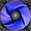 Thumbnail: COOLER FAN 12CM BLUE LED AZUL AEROCOOL