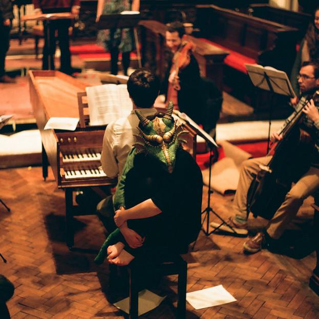 The Dragon of Wantley / Choreographer & Dragon / London Handel Festival