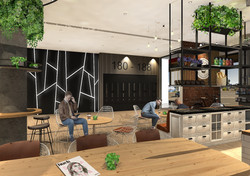Lobby Cafe Area