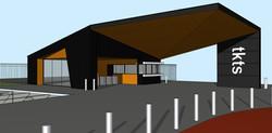 ATC carpark access control building