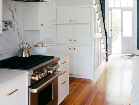 Seven Paint Colors Featured in Fantastic White Kitchens
