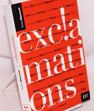 Fb Book Challenge Day 2: Exclamations, an anthology of Croatian poetry, 1971 - 1995