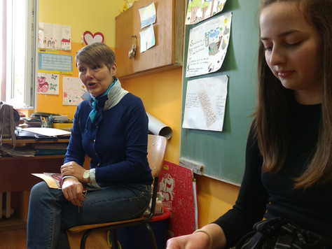 Lili Rotar u ližnjanskoj školi