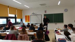 Dražen Katunarić s učenicima 6. c razreda