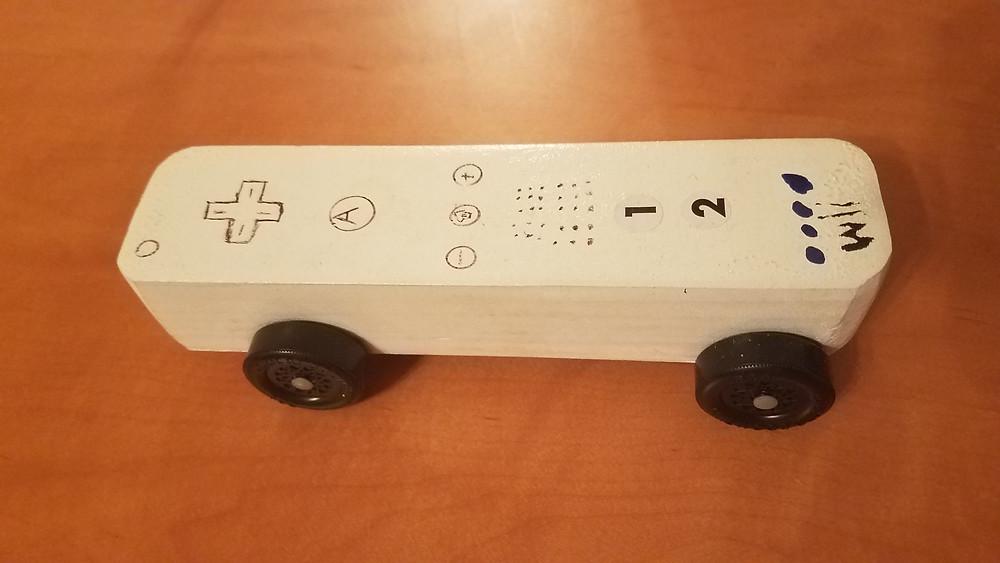 Wooden Wii remote