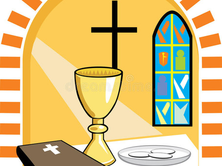 Worship with Holy Communion commences