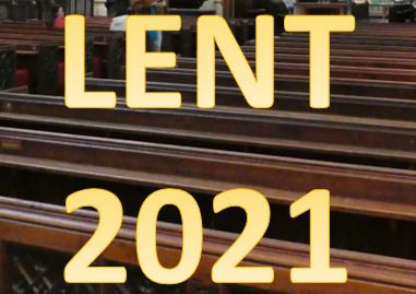 """""""Welcome to LENT!"""" - and Pews Available"""