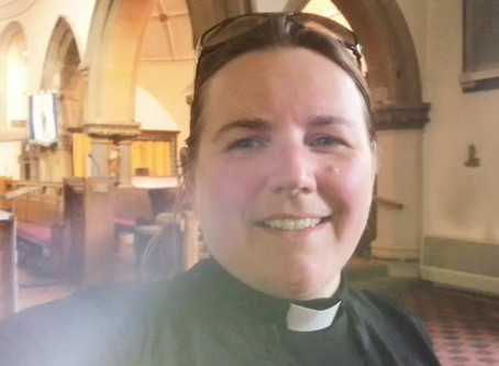 Ascension Day message from Rev'd Lizzie.