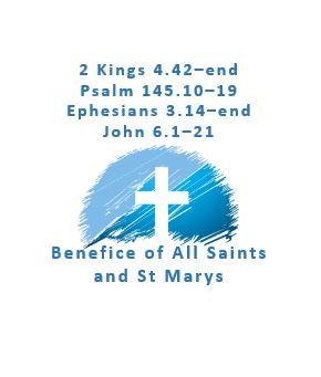 Sermon for Eighth Sunday after Trinity 25th July 2021) by Mark Simms