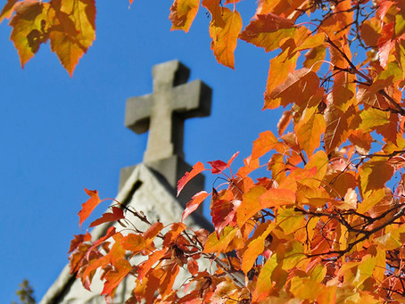 Autumnal Days and Prayers for those being ordained.