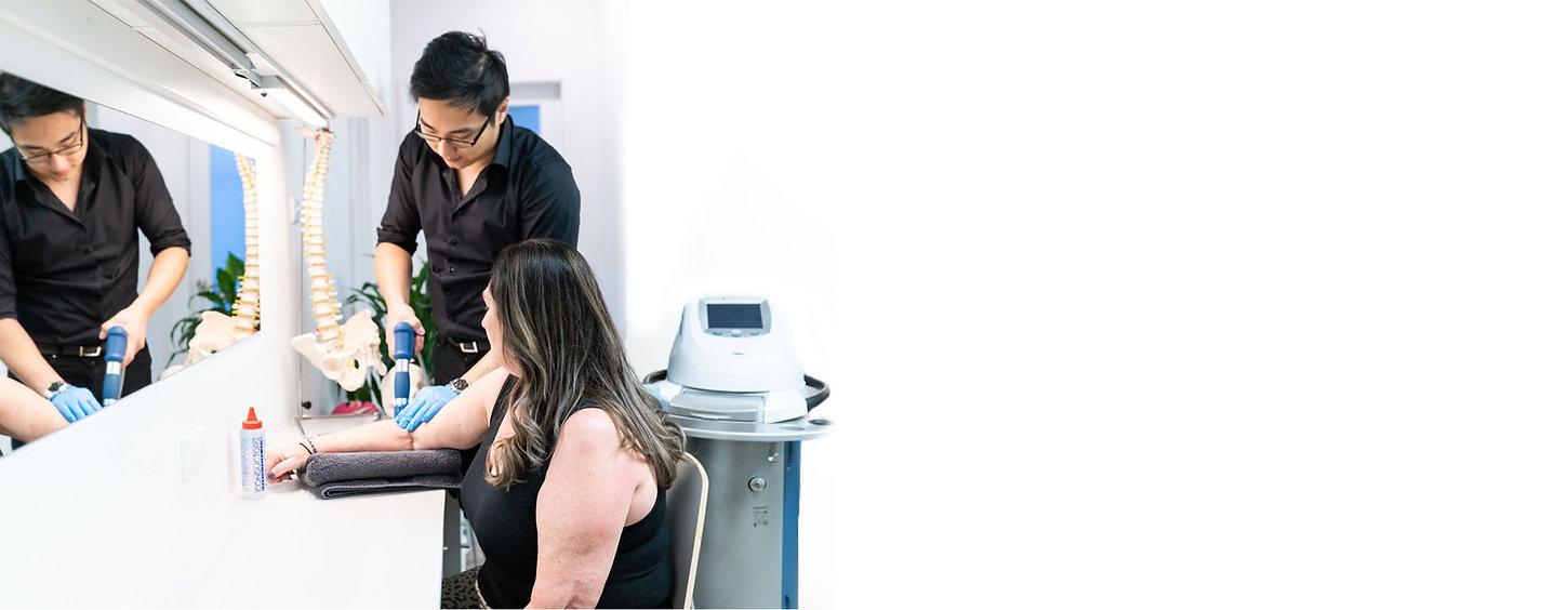 Balmain Physiotherapist using Shockwave Therapy
