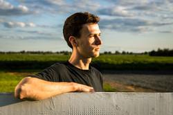 Portrait de cultivateur
