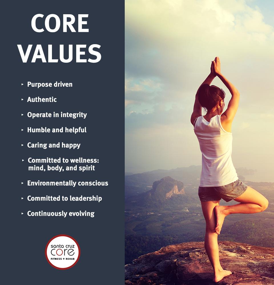 Santa Cruz CORE Values 2