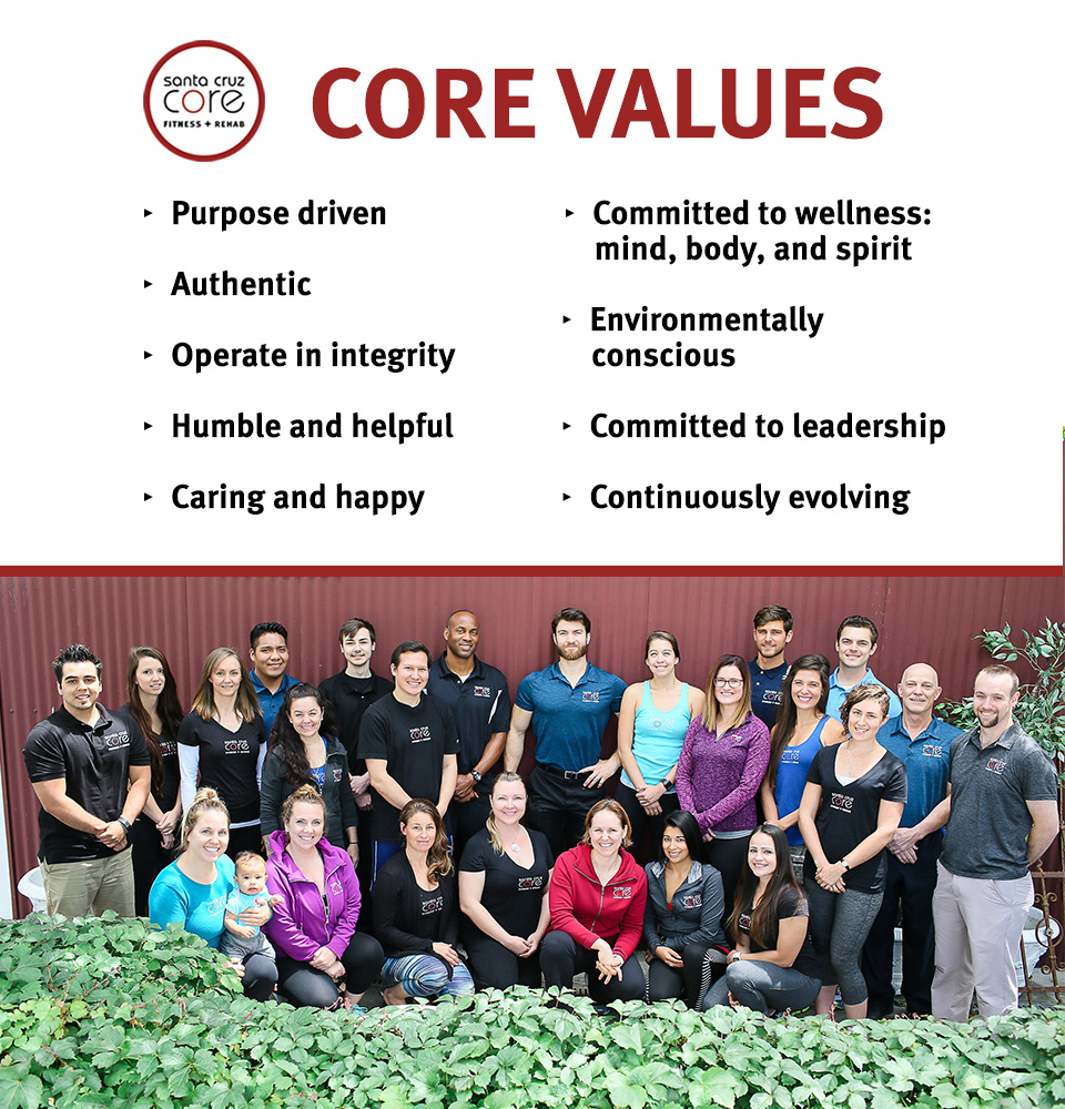 Santa Cruz CORE Values 1