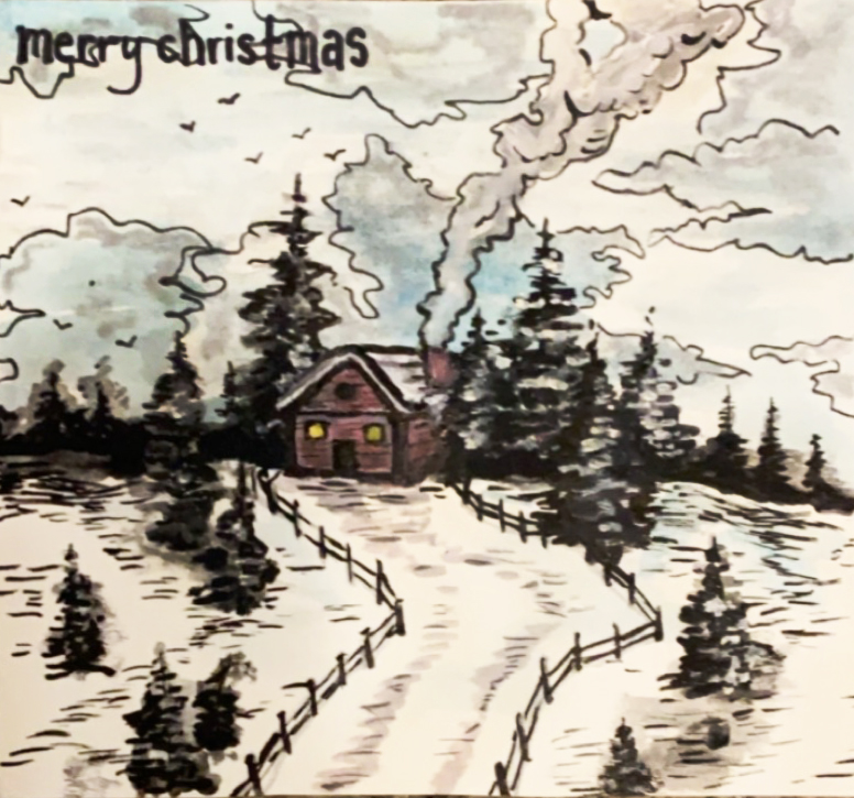 Merry Christmas Card (2)