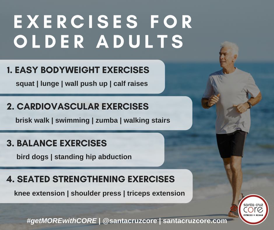 Exercises for Older Adults meme