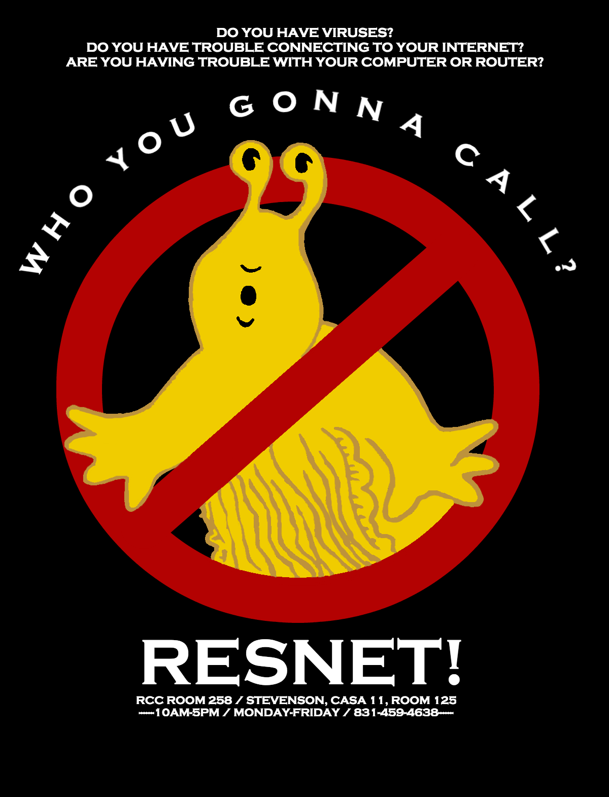 ResNet Ghostbuster T-shirt design