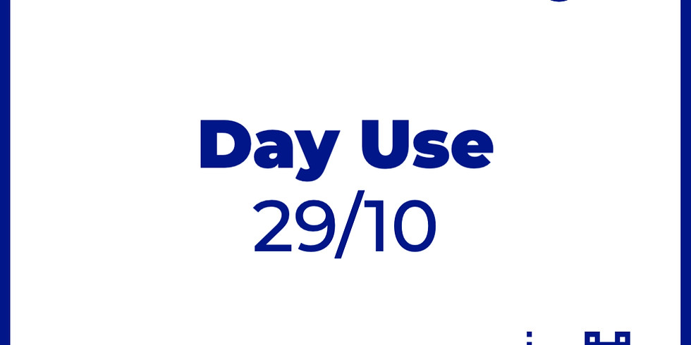 Day Use 29/10