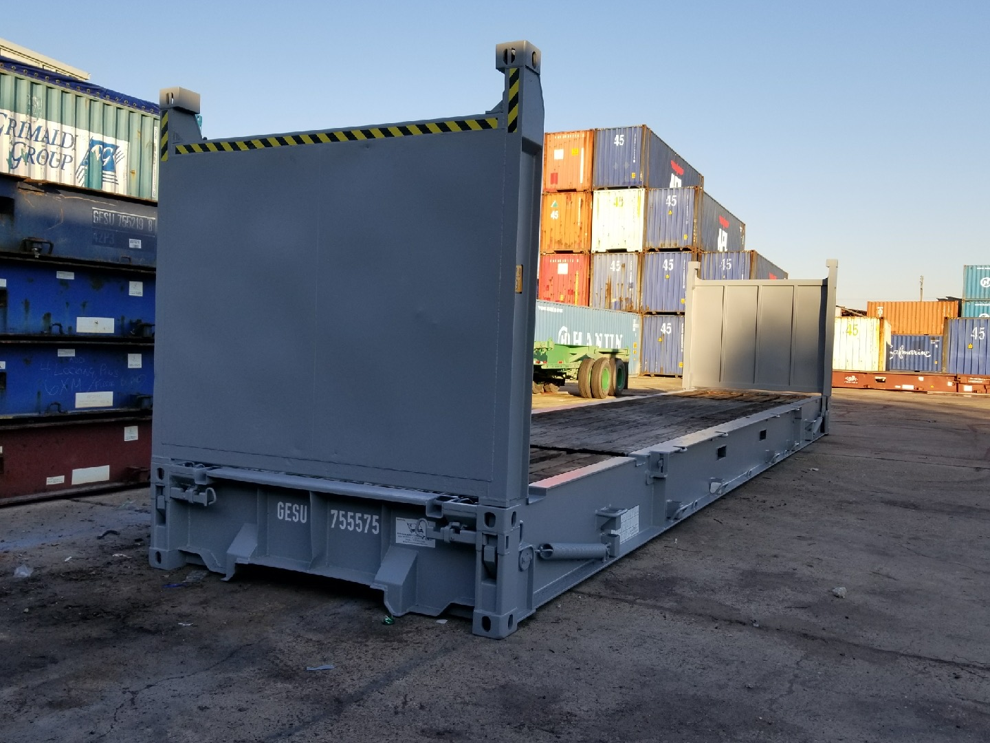 40' HC FR containers