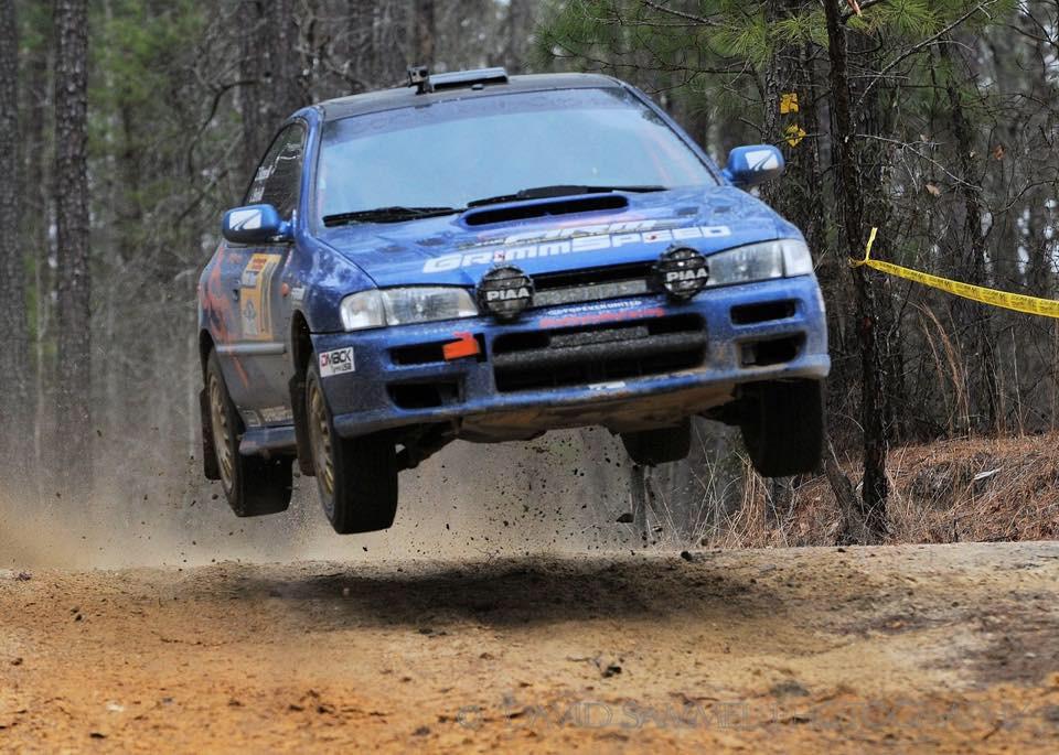 Jeff Berlin rally car