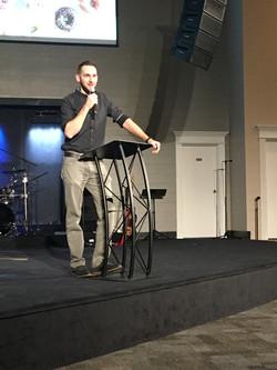 Aaron Speaking
