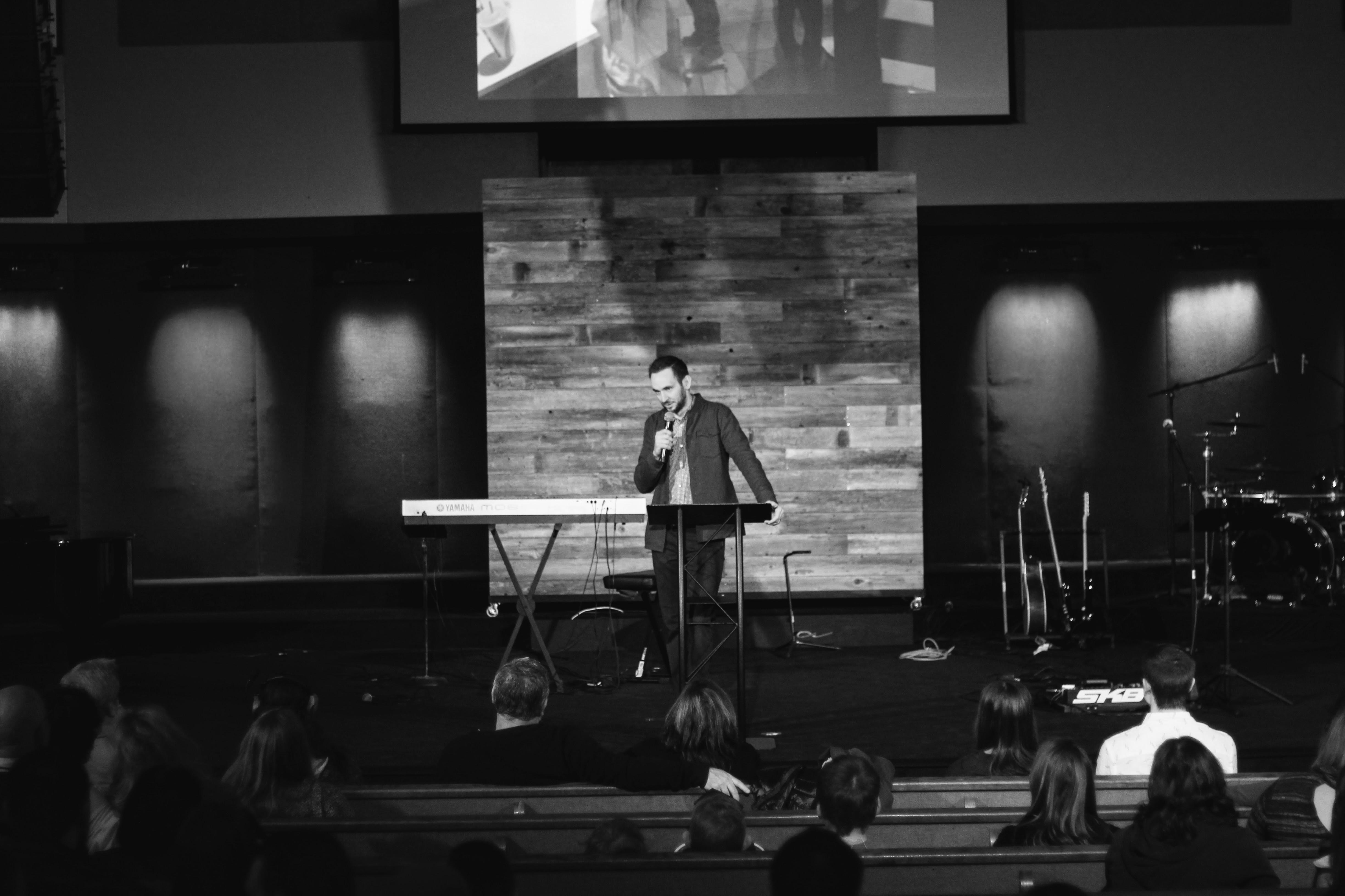 Aaron Preaching