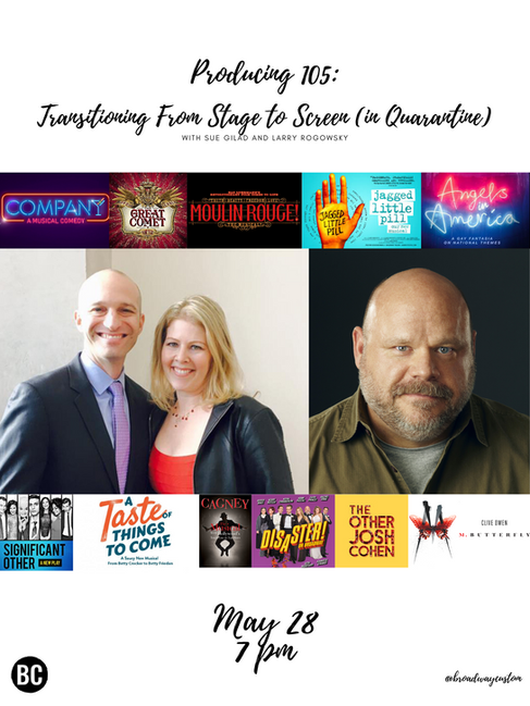 Producing 105: Transitioning From Stage to Screen (in Quarantine) with Kevin Chamberlin