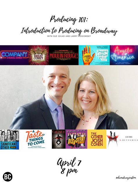 Producing 101: Introduction to Producing on Broadway