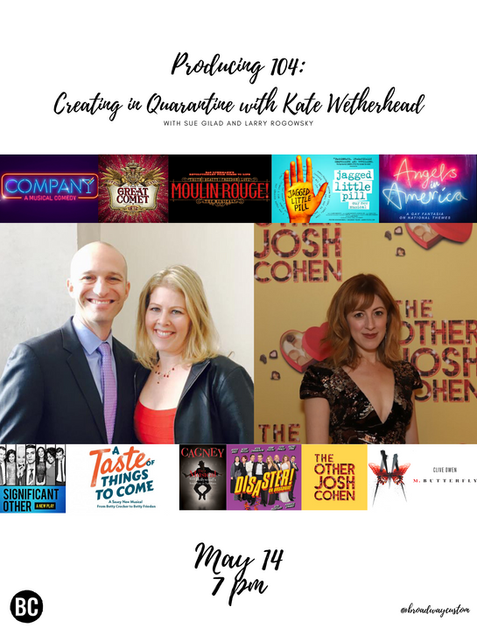 Producing 104: Creating in Quarantine with Kate Wetherhead