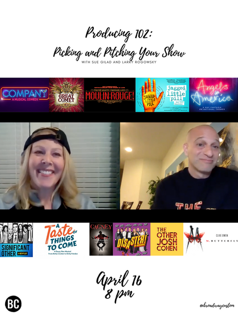 Producing 102: Picking and Pitching Your Show