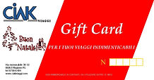 Gift card Ciak Viaggi