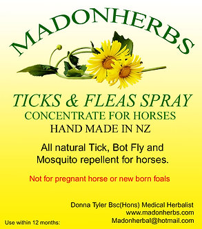 Ticks and Fleas (Horse concentrate) 1ltr