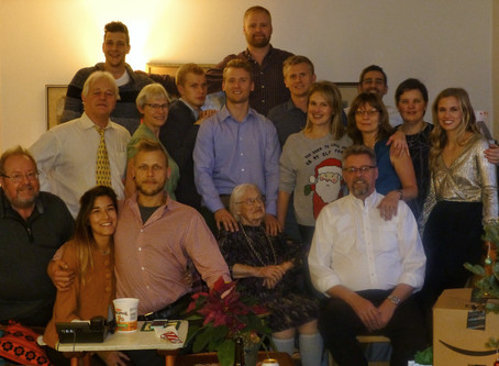 Estonian family look to the future in Honour of grandparents Meinhard and Selma Põldma