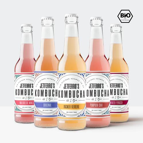 Bio Kombucha Probier Mix - 12 Pack