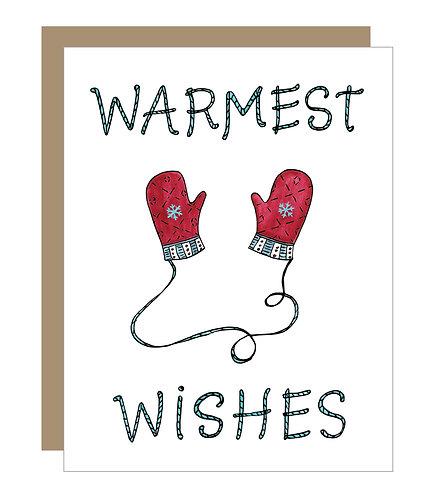 Warmest Wishes Card (6 singles)