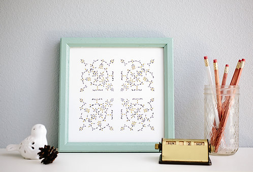 Honey and Lace Print (3 prints)