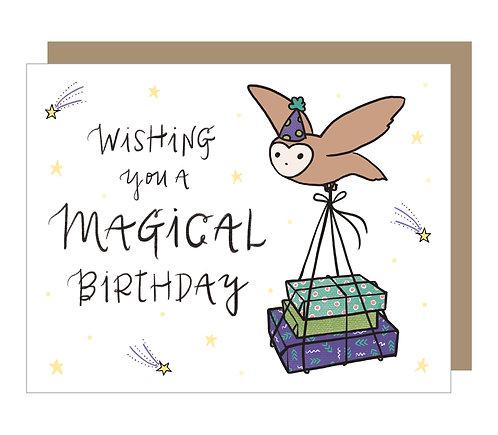 Magical Birthday Card (6 Singles)