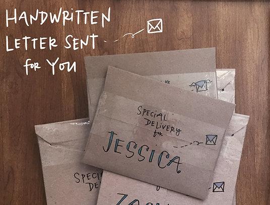 Handwritten Card Mailing Service