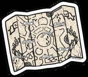 Little Marauder Sticker (6 singles)