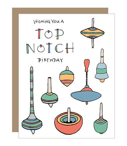 Top Notch Birthday Card (6 Singles)