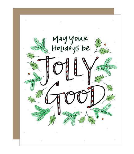 Jolly Good Card (6 singles)