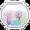 Thumbnail: Little Fishbowl Sticker (6 singles)