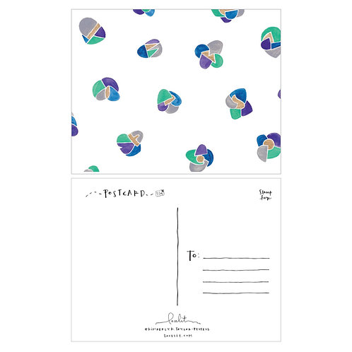 Geode Postcard Set (6 sets of 10)