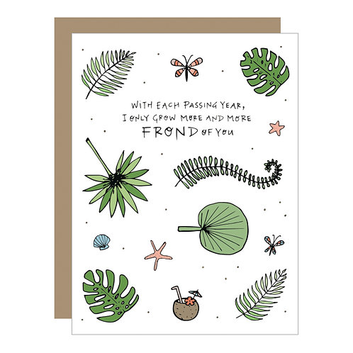 Frond of You Card (6 Singles)